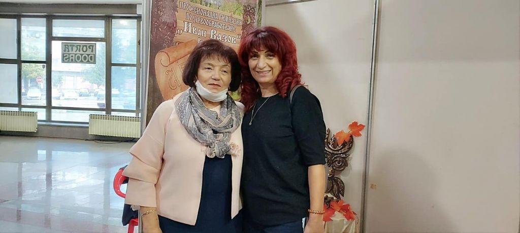 С неуморимата г-жа Такева - голяма снимка